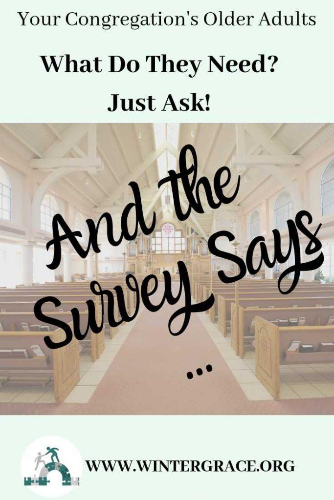 Survey Your Older Adults
